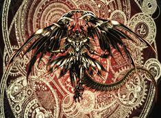 Dark magic dragon.