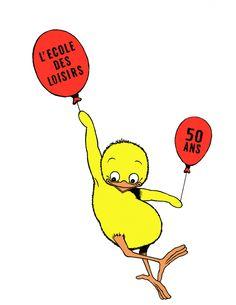les 50 ans de l'école des loisirs, à fêter dignement au salon du livre de paris !!! -® Claude Ponti.jpg