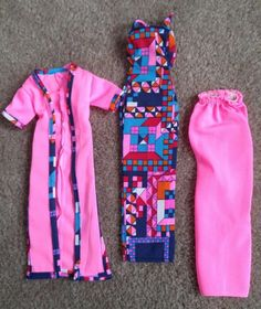 Vintage Superstar Barbie Change Abouts Outfit #2583 Dress Gown and Skirt   eBay