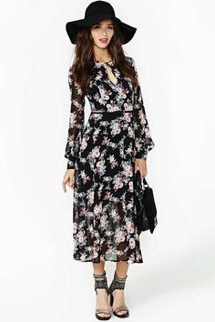 Dark Meadows Maxi Dress 	 	 	 		 			 		 		 			 	                 	             	        $68.00