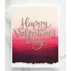 Cheap Cutting Dies, Buy Directly from China Suppliers:Happy Valentine's Day Words Metal Cutting Dies Stencils for DIY Scrapbooking Embossing Paper Cards Decorative Crafts New 2018 Valentines Day Cards Handmade, Valentines Day Words, Valentines Art, Happy Valentines Day, Valentines Watercolor, Watercolor Cards, Watercolor Video, Paper Cards, Diy Cards