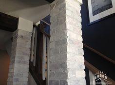 Cherokee Brick: Modular Tumbled Thin Brick (Painted) Thin Brick Veneer, Cherokee, Mountain, Arbour, Stone, Gallery, House Ideas, Van, Painting
