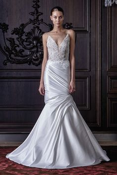 """Monique Lhuillier Spring 2016 Bridal Collection 