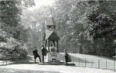 Warley Woods Political Geography, Drinking Fountain, Birmingham England, City Painting, Past, Woods, 70th Birthday, Black And White, History
