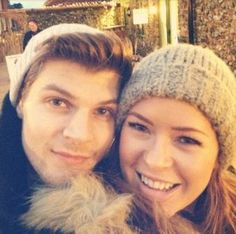 Tanya Burr and Jim Chapman :) One of my favorite couples. They are so adorable.