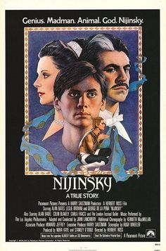 "MP045. ""Nijinsky"" American Movie Poster by Richard Amsel (Herbert Ross 1980) / #Movieposter"