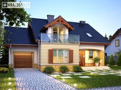 Style At Home, House Elevation, Design Case, Modern House Design, Contemporary Interior, Home Fashion, Home Projects, Future House, House Plans