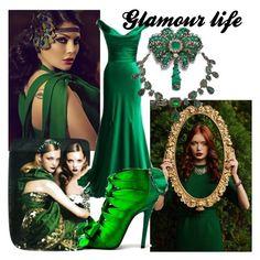 """GLAMOUR LIFE"" by kidsfashion001 on Polyvore featuring moda i Elie Saab"