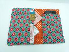 Mobielhoesje en portemonnee in één, met gratis beschrijving!