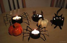 Halloween Candles: Spider – Cat – Bats