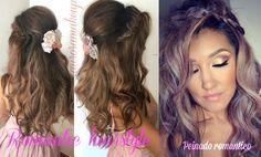 Peinado Romantico TUTORIAL (Romantic Hairstyle)