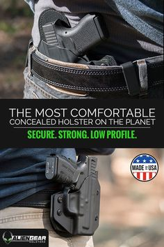 Get the most comfortable concealed carry holster on the planet with Alien GearHolsters. Secure, strong and low profile�it�s the only holster you�ll ever need. Each and every one is proudly made right here in the USA and comes complete with alifetime warranty. Get yours today.