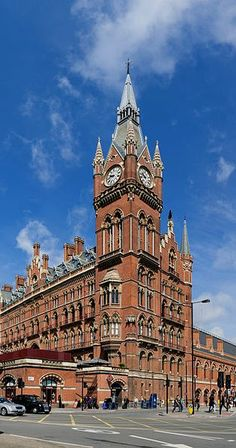 St Pancras Railway Station, London -Extra Hint: Double click on the photo to get or sell a travel itinerary to London