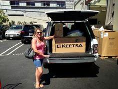 KEETSA Eco Friendly Mattresses - The Keetsa Cloud. Purchased at Keetsa Mattress Venice, Los Angeles Store.