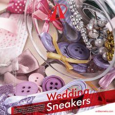 Bila kamu seorang pasangan yang cukup romantis, kamu bisa mengungkapkan cinta pada pasangan dengan menghias sneakers yang kamu pakai saat wedding day dengan pita, renda, kristal, bros dan diberi sedikit tulisan yang melambangkan ungkapan cintamu. #ardilessneakers #ardiles #kicks #shoesoftheday #hypebeast #musthave #todaykick #IGkick #kicksoftheday #sneakerfiles #soeltoday #Produkindonesia
