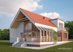 LK&1166 http://lk-projekt.pl/lkand1166-produkt-9497.html #projektydmow #architektura #domynowoczesne