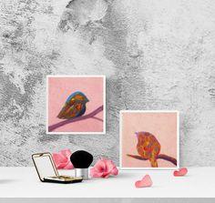 Small bird N4 by Gauscraftstudio on Etsy
