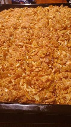 Cornflakes - Kuchen, ein schönes Rezept aus der Kategorie Kinder. Bewertungen: 43. Durchschnitt: Ø 4,0.