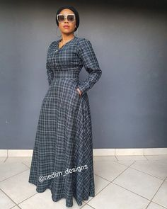 Winter Maxi Dresses @nedim_designs +27829652653 African Maxi Dresses, Latest African Fashion Dresses, African Print Fashion, African Attire, Modest Dresses, Simple Dresses, Casual Dresses, Elegant Dresses Classy, Classy Dress