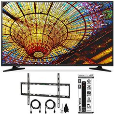 Bundle Includes LG 65UH5500 - 65-Inch 4K Ultra HD Smart LED TV Flat Wall Mount Kit Ultimate Bundle for 45-90 inch TVs 6 Outlet Power Strip with Dual USB Ports 4K Ultra HD (3840 x 2160) LG 4K Ultra HD ...