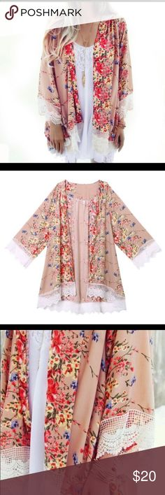 Floral Cardigan New Accept Offers                         ✈️Fast ship✈️             ❌No returns❌                                                                     Thanks for visit my closet Sweaters Cardigans