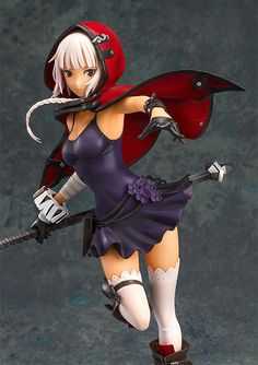 God Eater 2 Rage Burst PVC Statue 1/8 Livie Collete 20 cm