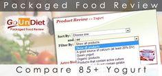 A new tool comparing 85+ yogurt!