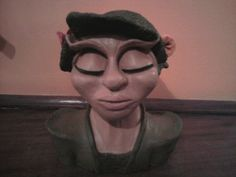 handmade sculpture from clay