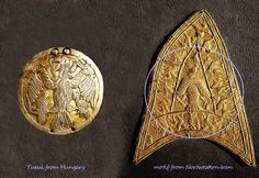 Turul / Falcon - Scythian motif Coins, Personalized Items, Accessories, Art, Coining, Rooms, Kunst, Art Education, Artworks