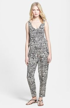 Ella Moss 'Kona' Graphic Print Jumpsuit available at #Nordstrom