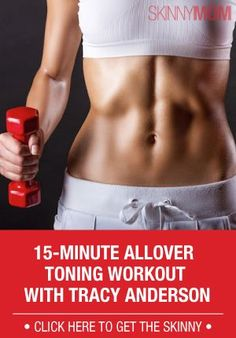 15-Minute Allover Toning Workout with Tracy Anderson