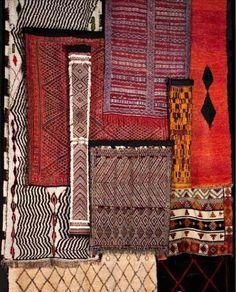 Berber carpets.