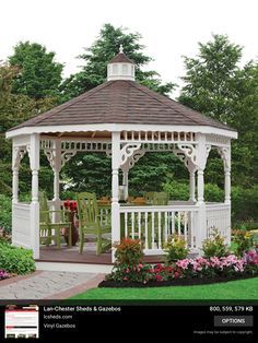 Gazebo Roof, Backyard Gazebo, Outdoor Pool, Backyard Landscaping, Outdoor Spaces, Outdoor Living, Pergola, Beautiful Landscapes, Beautiful Gardens