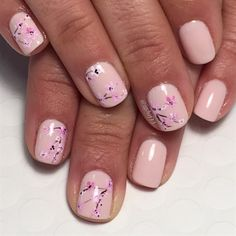Cherry Blossoms  by Jgchef13 from Nail Art Gallery