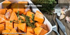Sweet Potato Bites ~ Need help? Let's connect! Email me with a list of your goals and lifestyle to getfit2stayhealthy@gmail.com or go to facebook.com/GetFit2StayHealthy and connect with me there! #GetFit2StayHealthy #21DayFix #SideDish