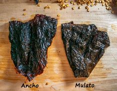 Comparing Ancho to Mulato after reconstituting Mexican Cooking, Mexican Food Recipes, Mole Sauce, Cooking Recipes, Mole, Cooker Recipes, Mexican Recipes, Recipies