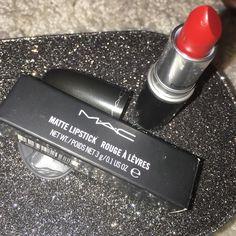 Mac matte lipstick - studded kiss Brand new in box matte lipstick in studded kiss. 100% authentic MAC Cosmetics Makeup Lipstick