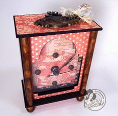 The Gentleman Crafter: A Ladies Diary Carriage Clock! Revealed!