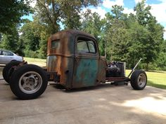 The 46 Ford rat rod build continues Rat Rod Build, Hot Rod Pickup, Hot Rod Trucks, Boy Toys, Ford Models, Custom Trucks, Rat Rods, Bobber, Cars