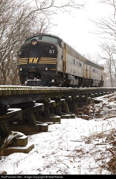RailPictures.Net Photo: WVC 67 West Virginia Central Railroad EMD FP7(A) at Beverly, West Virginia by Matt Reese