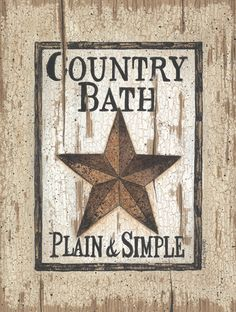 Bathroom Decor On Pinterest Primitive Bathrooms Country Bathroom