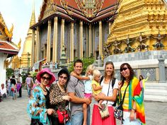 Cung điện The Grand Palace - Đền thờ Phật nằm Wat Pho – Khao San Road