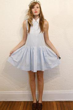 vintage casual dress