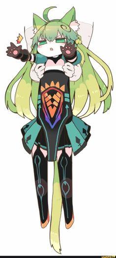 Very long Atalanta Anime Neko, Kawaii Anime, Anime Manga, Anime Art, Character Art, Character Design, Fate Anime Series, Fate Zero, Comics