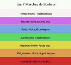 Les 7 marchés du bonheur - Best Picture For salute anime For Your Taste You are looking for something, and it is going to te - Positive Attitude, Positive Vibes, Miracle Morning, French Quotes, Learn French, Positive Affirmations, Book Recommendations, Love Life, Cool Words