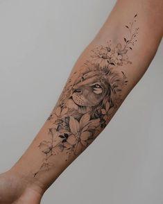 Mutterschaft Tattoos, Bauch Tattoos, Forarm Tattoos, Dope Tattoos, Body Art Tattoos, Hand Tattoos, Small Tattoos, Tattoo Me, Lion Forearm Tattoos