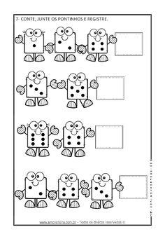 AVALIAÇÃO DIAGNÓSTICA DE MATEMÁTICA - 1º ANO - Alfabetizar com AMOR First Grade Worksheets, 1st Grade Math, Math Worksheets, Math Activities, Math Word Problems, Numeracy, Home Schooling, Teaching Resources, Kindergarten