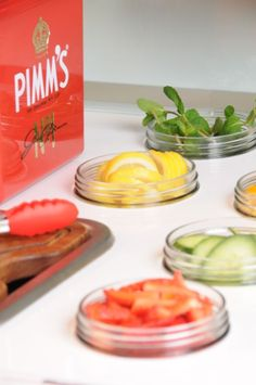 Fruit served off out Pimm's Tricycle | Ideas Box | London