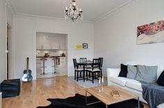 ♥♥♥ Дизайн однокомнатной квартиры 40 кв. м: фото и избранные интерьеры; готовые бесплатные дизайн проекты для однокомнатных квартир, зонирование и декор.