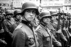 At least 8 American Waffen SS soldiers were killed wearing the hated SS uniform. In addition to Waffen SS, numerous ethnic Germans who were born in the USA served in the Wehrmacht.